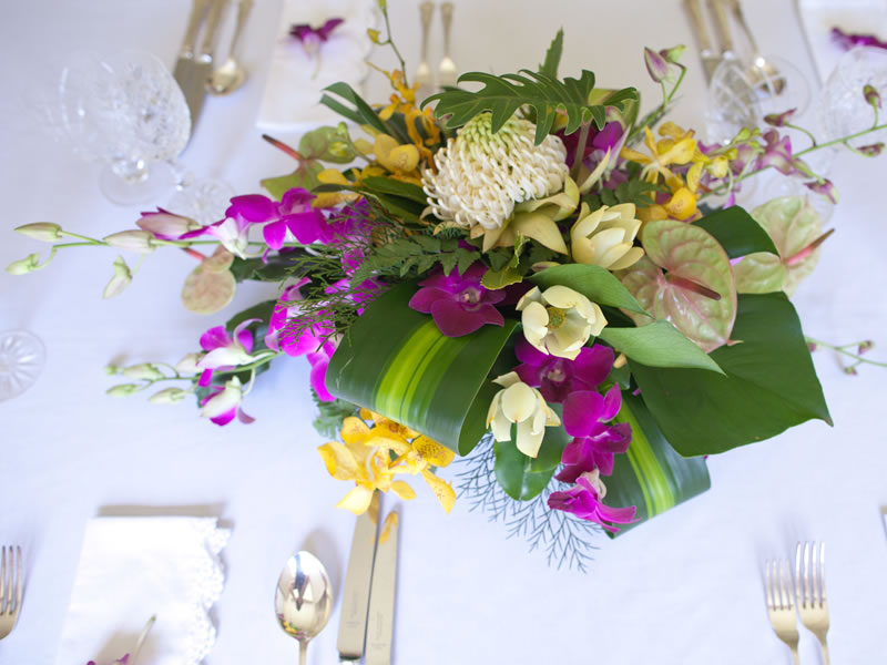 event floral arrangements for weddings